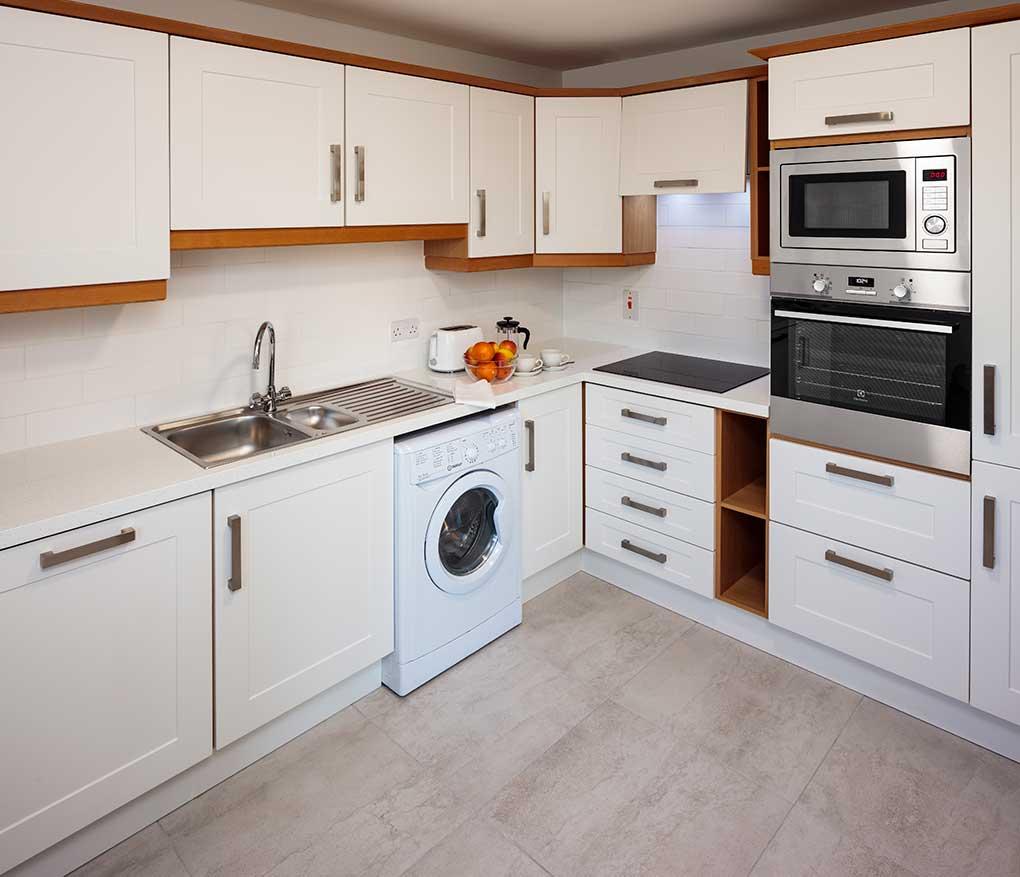 Kitchen Baggot Rath House Apartments