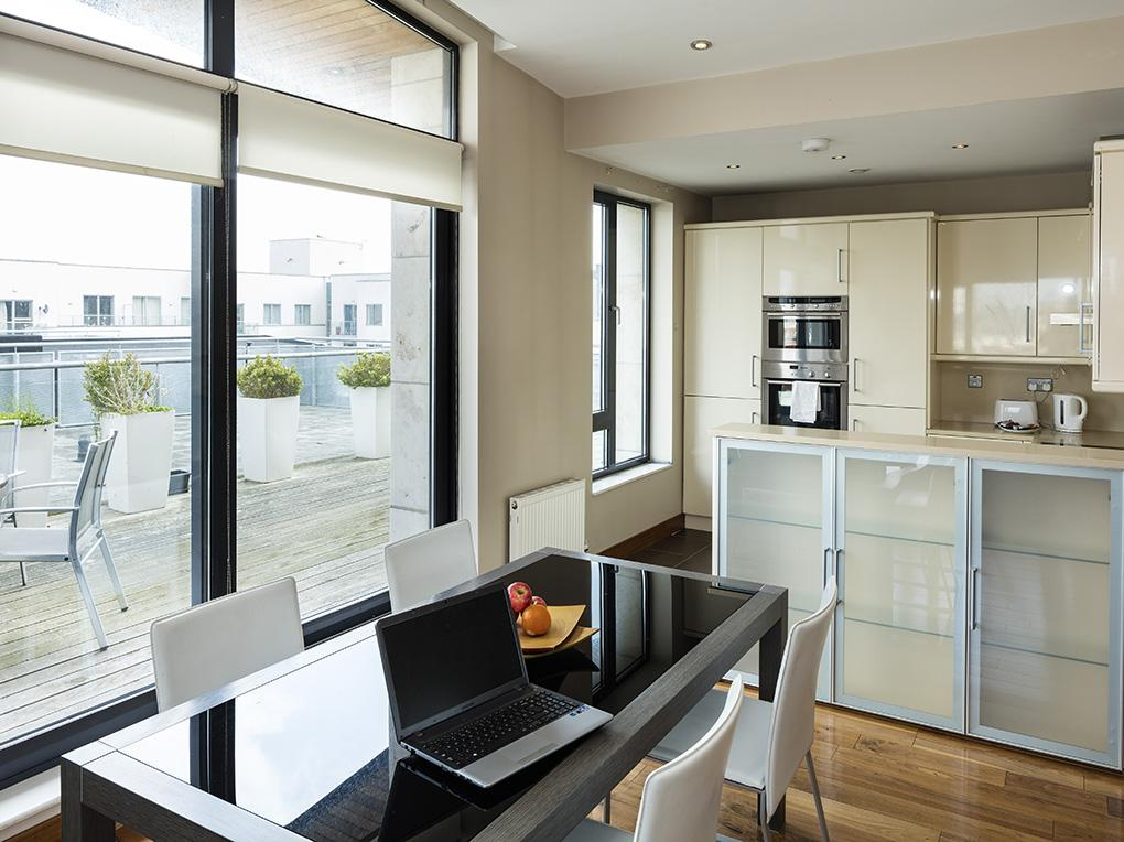 Kitchen & Dining, South Dock Apartments
