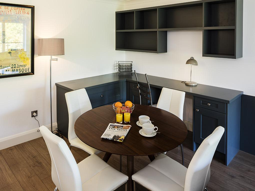 Dining, The Oaks, Rockfield Apartments,