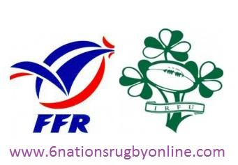 France vs Ireland rugby