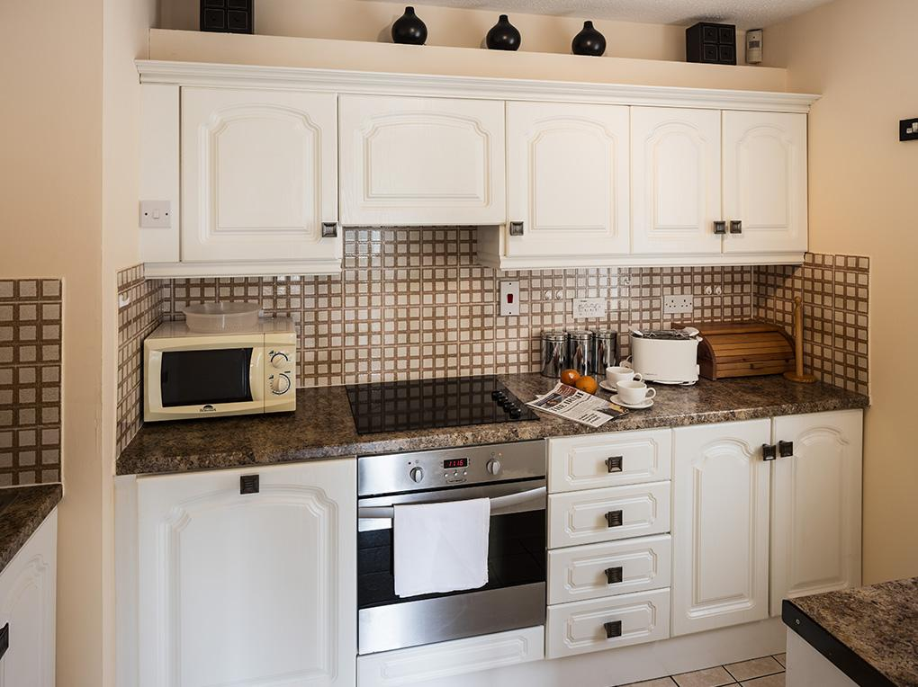 Kitchen, Wellington Lodge Apartments