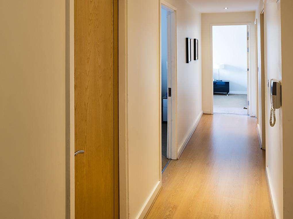 Hallway, Gasworks Apartment Dublin
