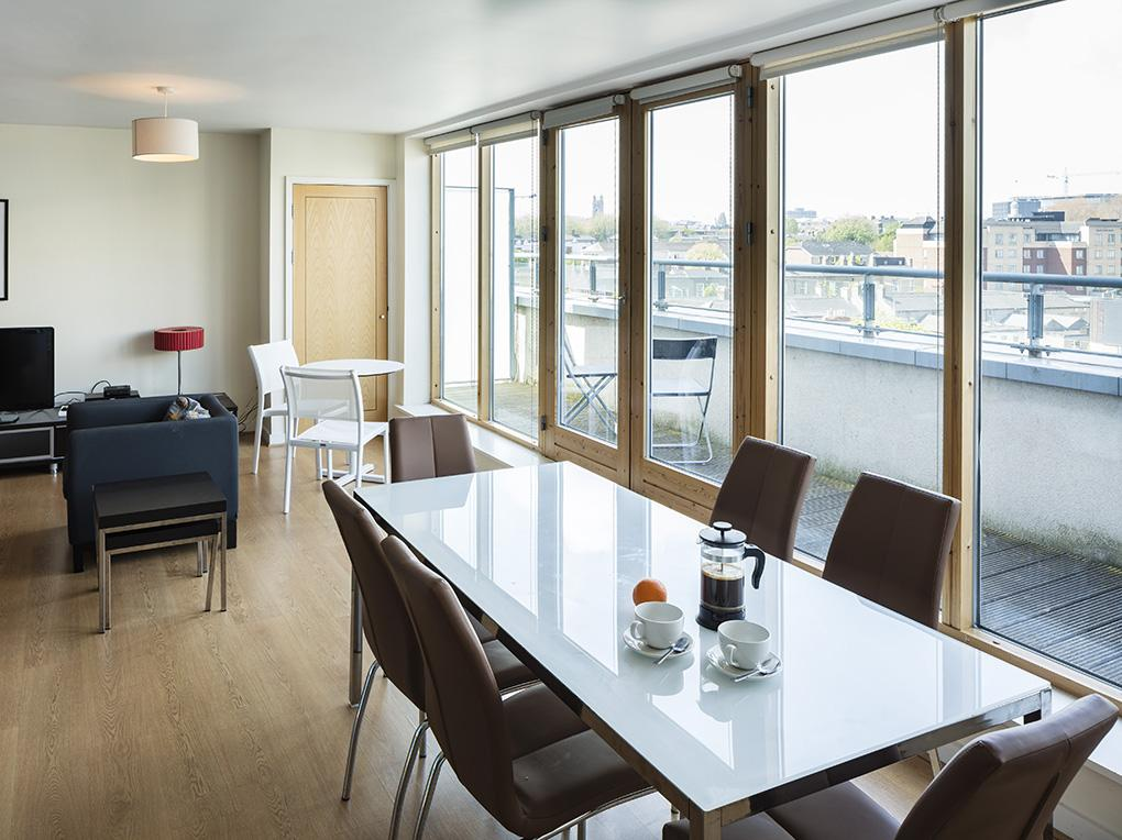 Lounge & Dining, Gasworks Apartment Dublin