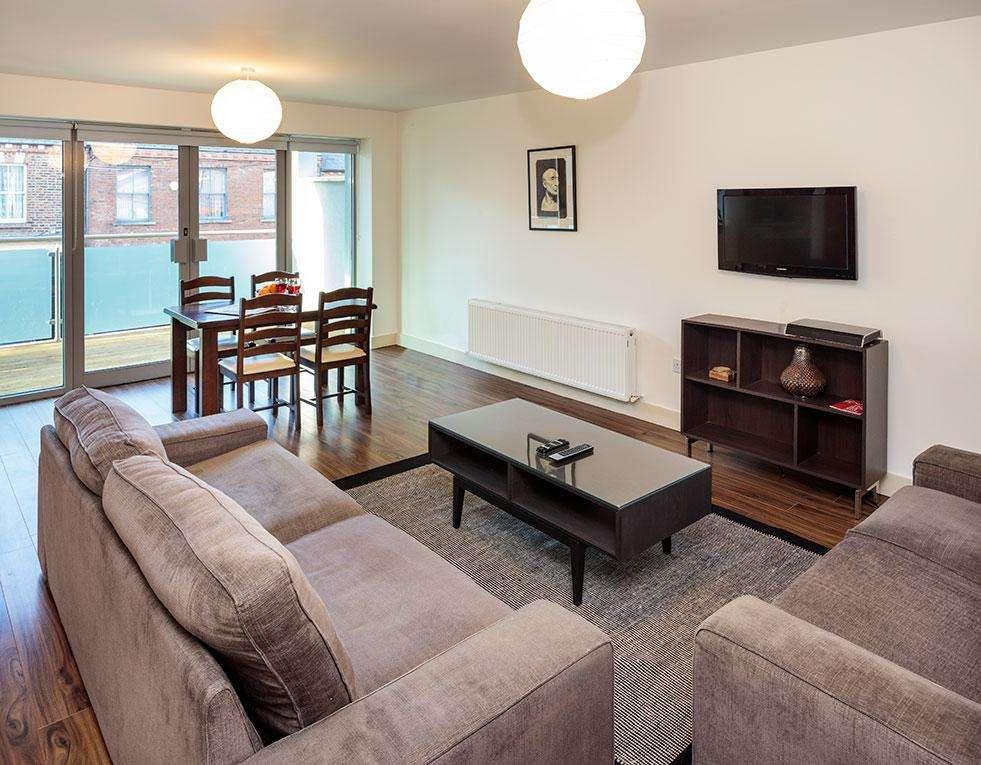 Grattan Street Living Area